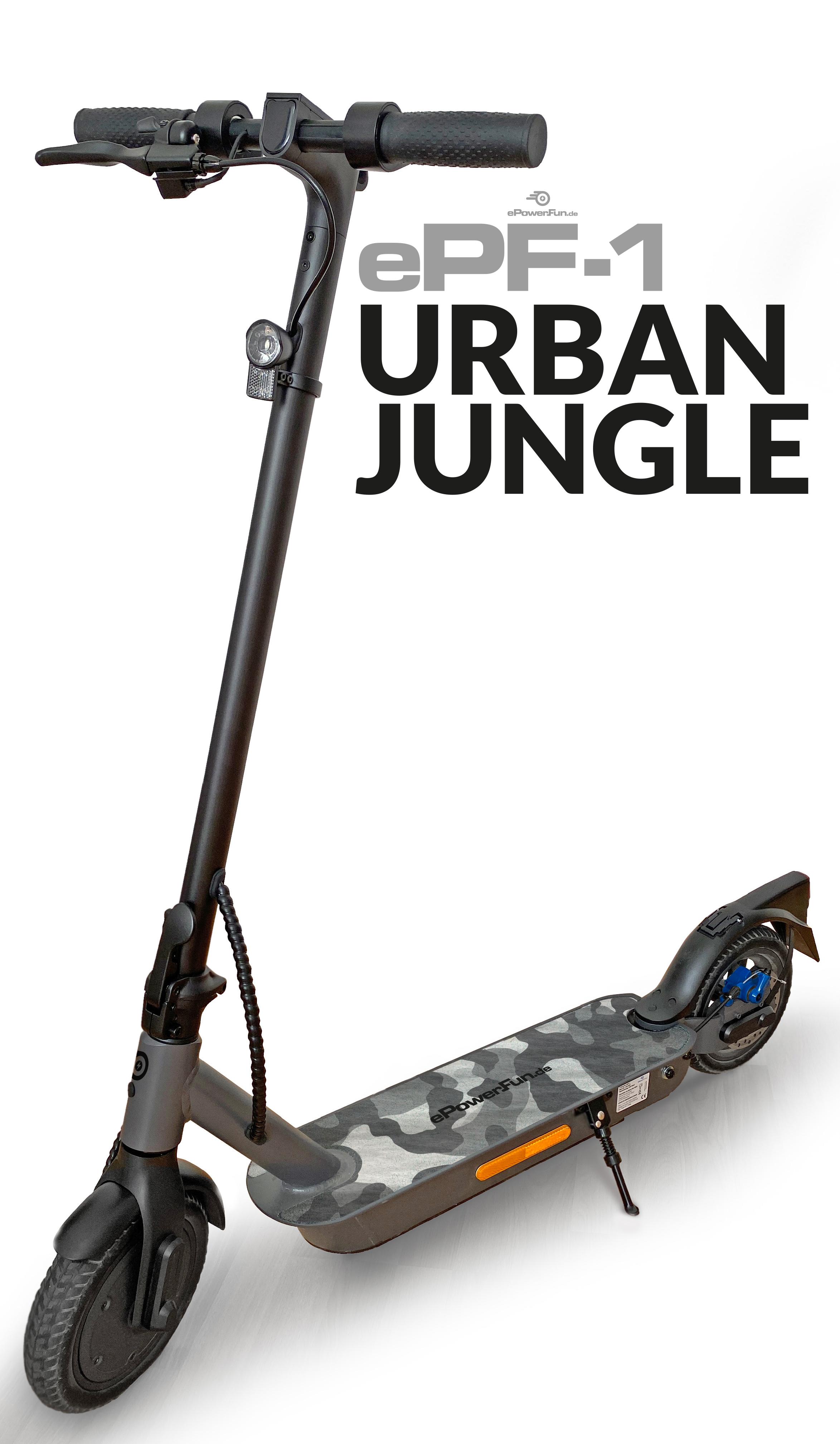 """ePF-1 """"Urban Jungle"""" - mit Straßenzulassung (ABE¹)"""