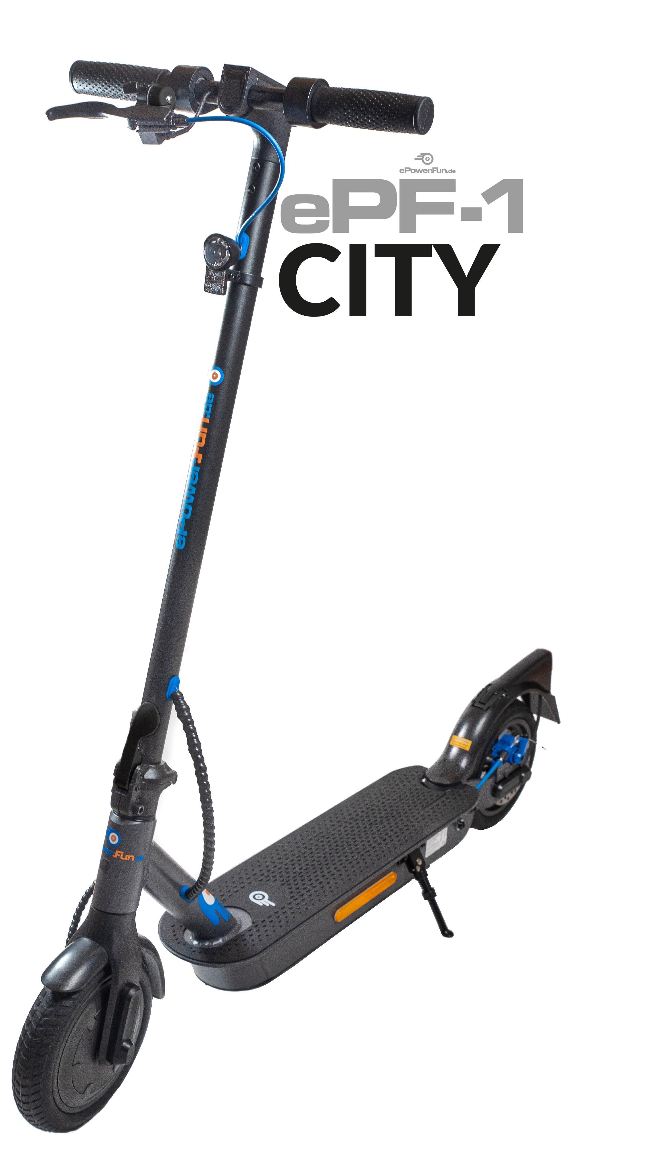 """ePF-1 """"City"""" - mit Straßenzulassung (ABE¹)!"""