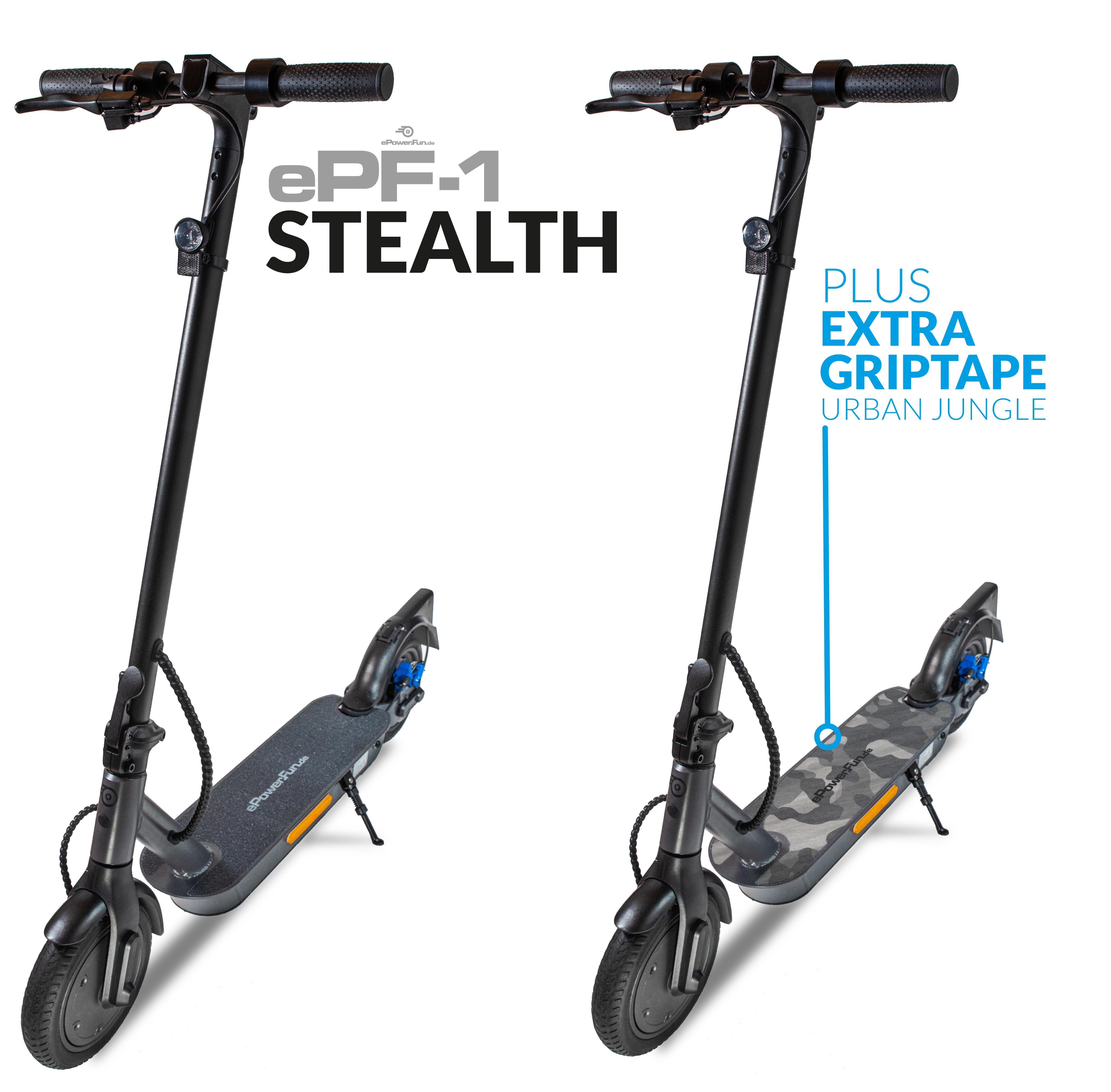 ePF-1 Stealth eScooter mit Straßenzulassung