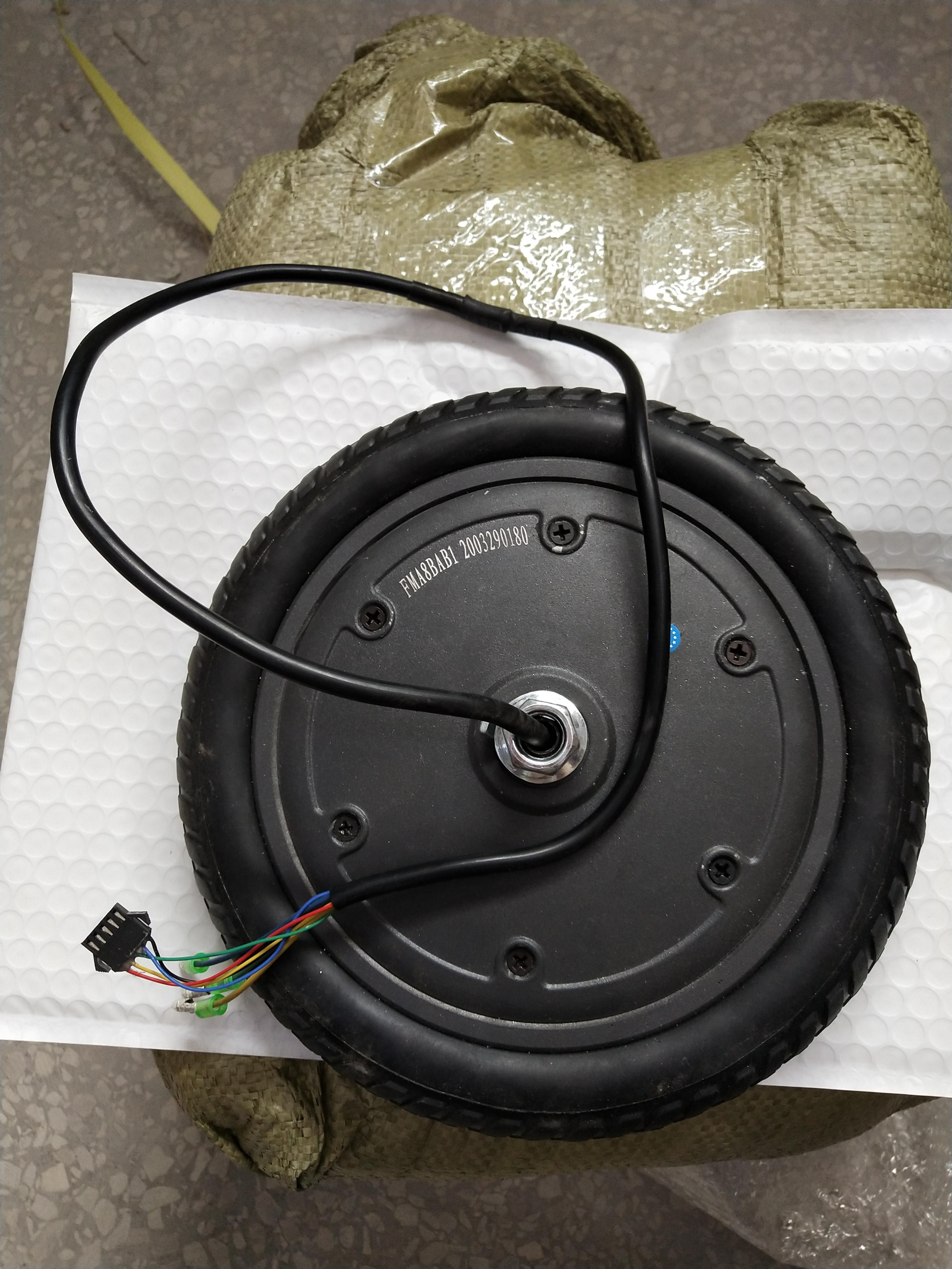 Luftkammervorderrad inkl. Motor