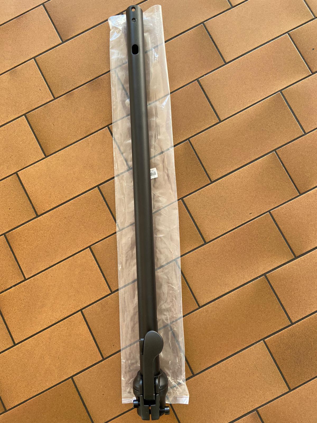 Lenkgabel (vertikal) incl. Klappmechanismus schwarz