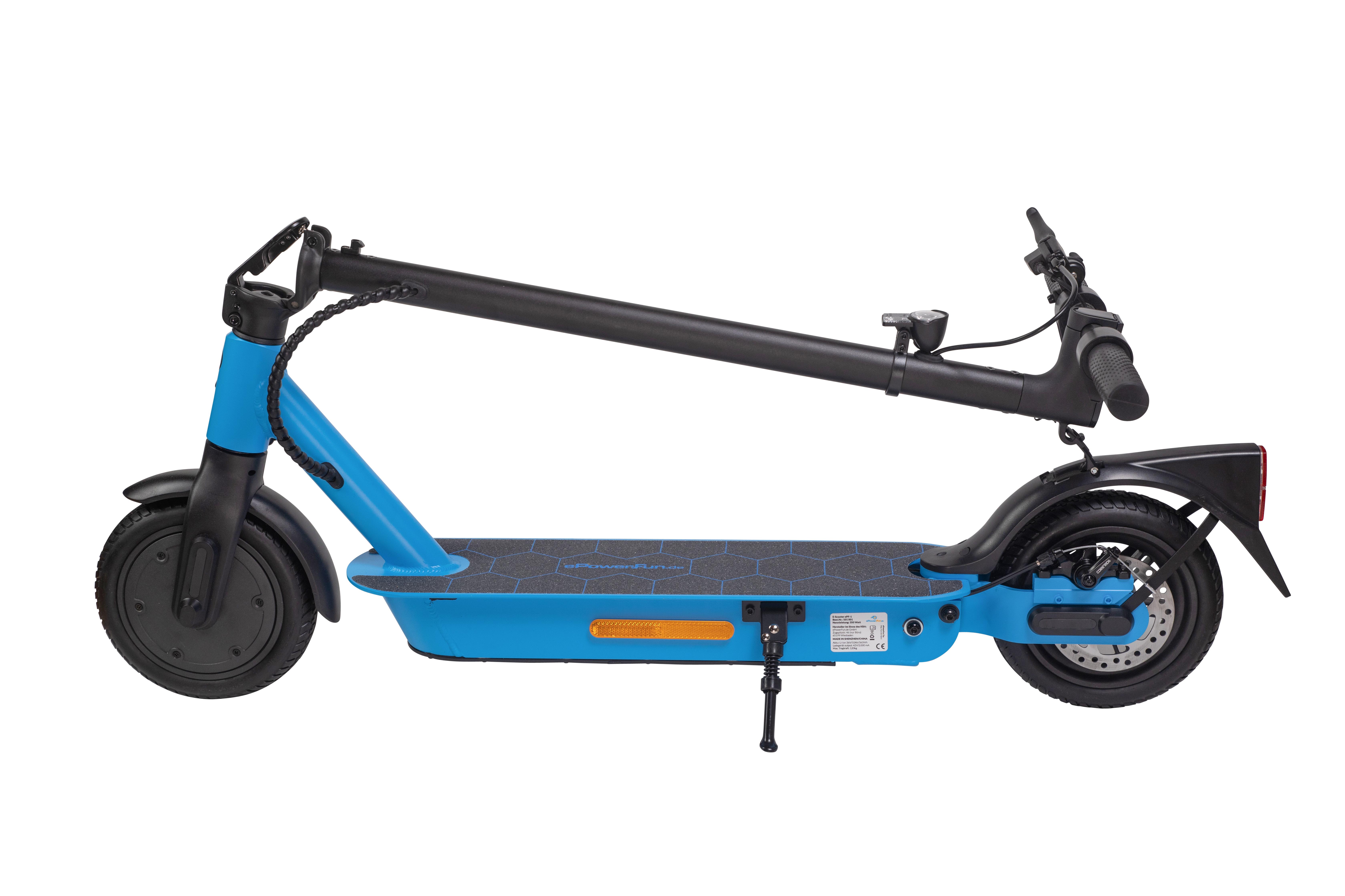 Vorbestellung - ePF-1 Blue eScooter mit Straßenzulassung