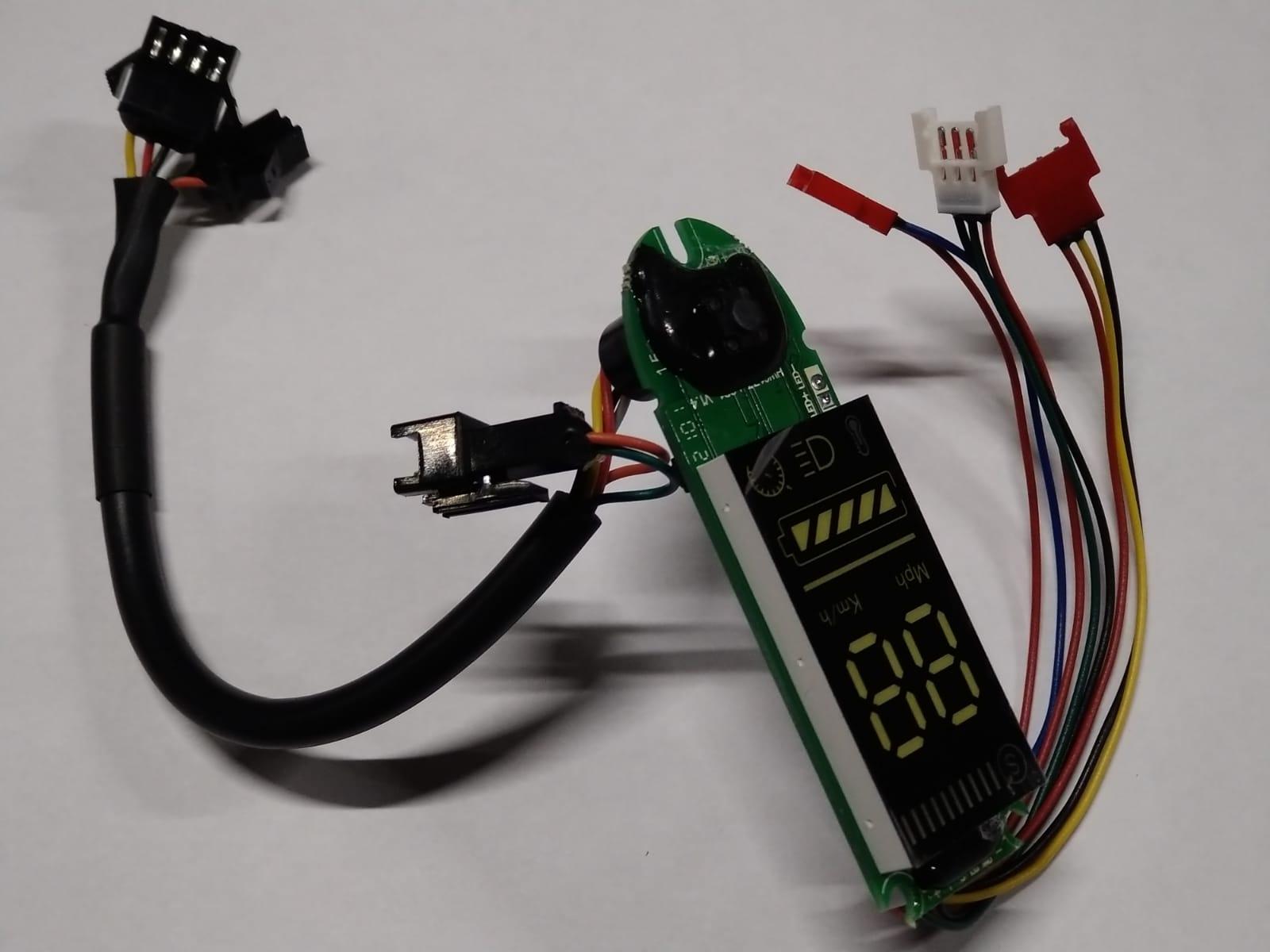 LCD Display Vers.DE029W  Dual Plug