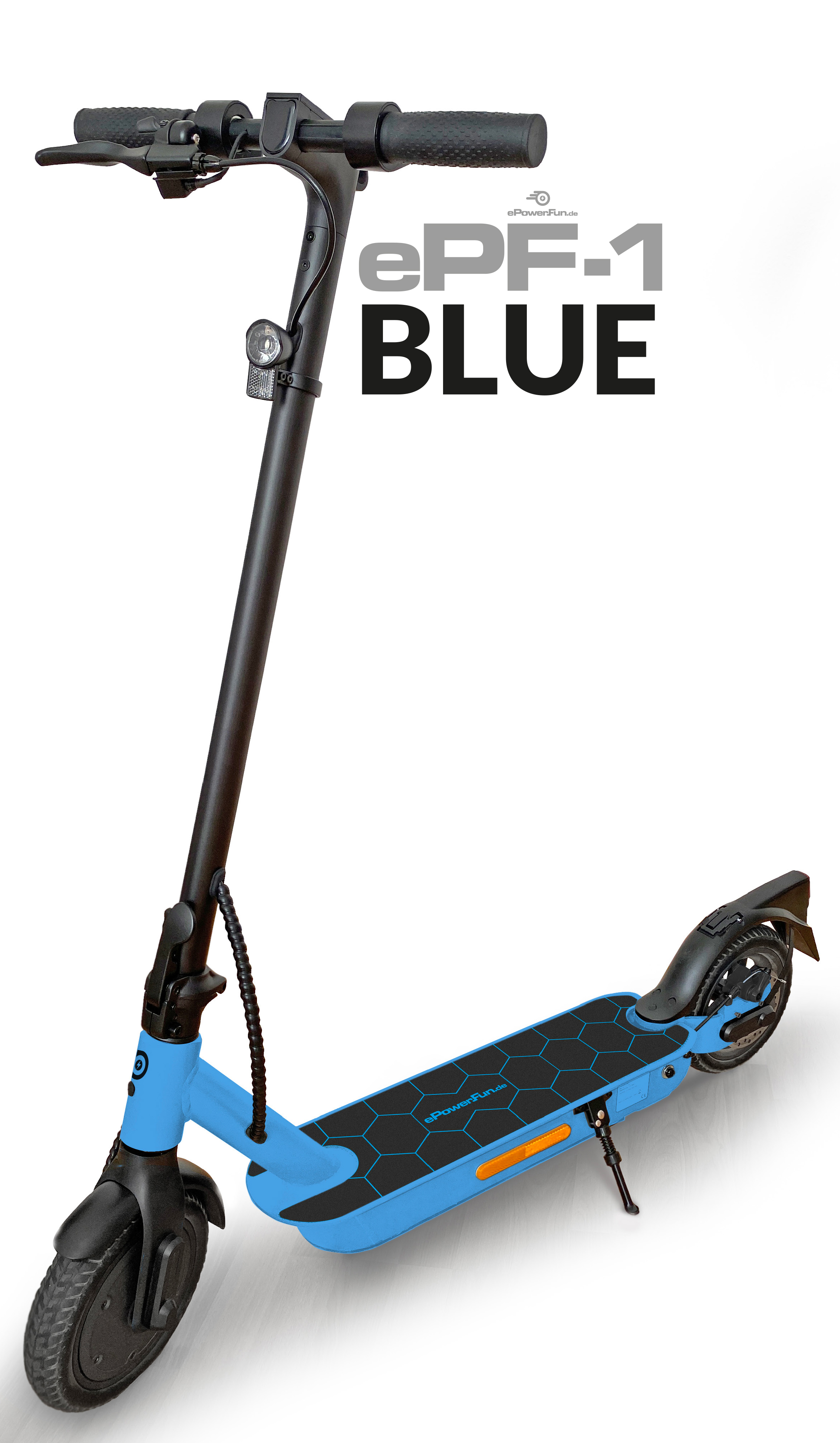 """ePF-1 """"Blue"""" - mit Straßenzulassung (ABE¹)"""