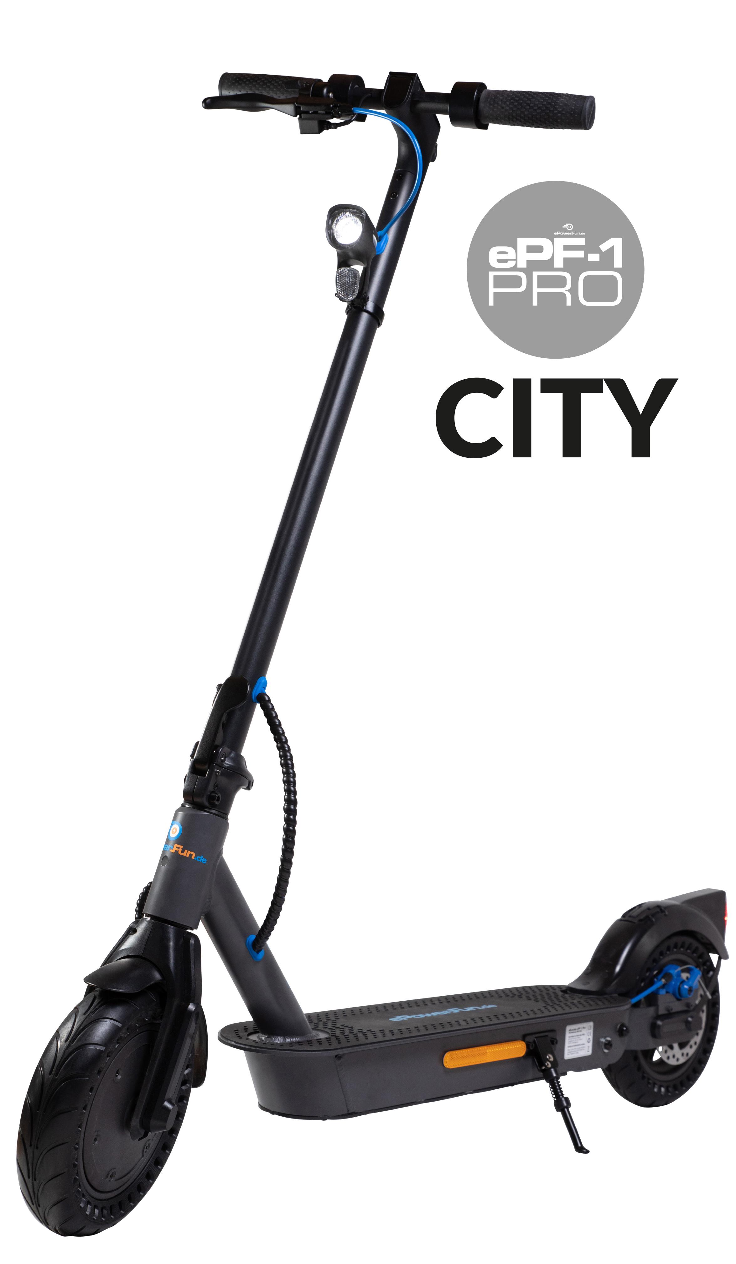 """Vorbestellung - ePF-1 PRO """"City"""" - mit Straßenzulassung (ABE¹) - Lieferung bis 11.6.!"""