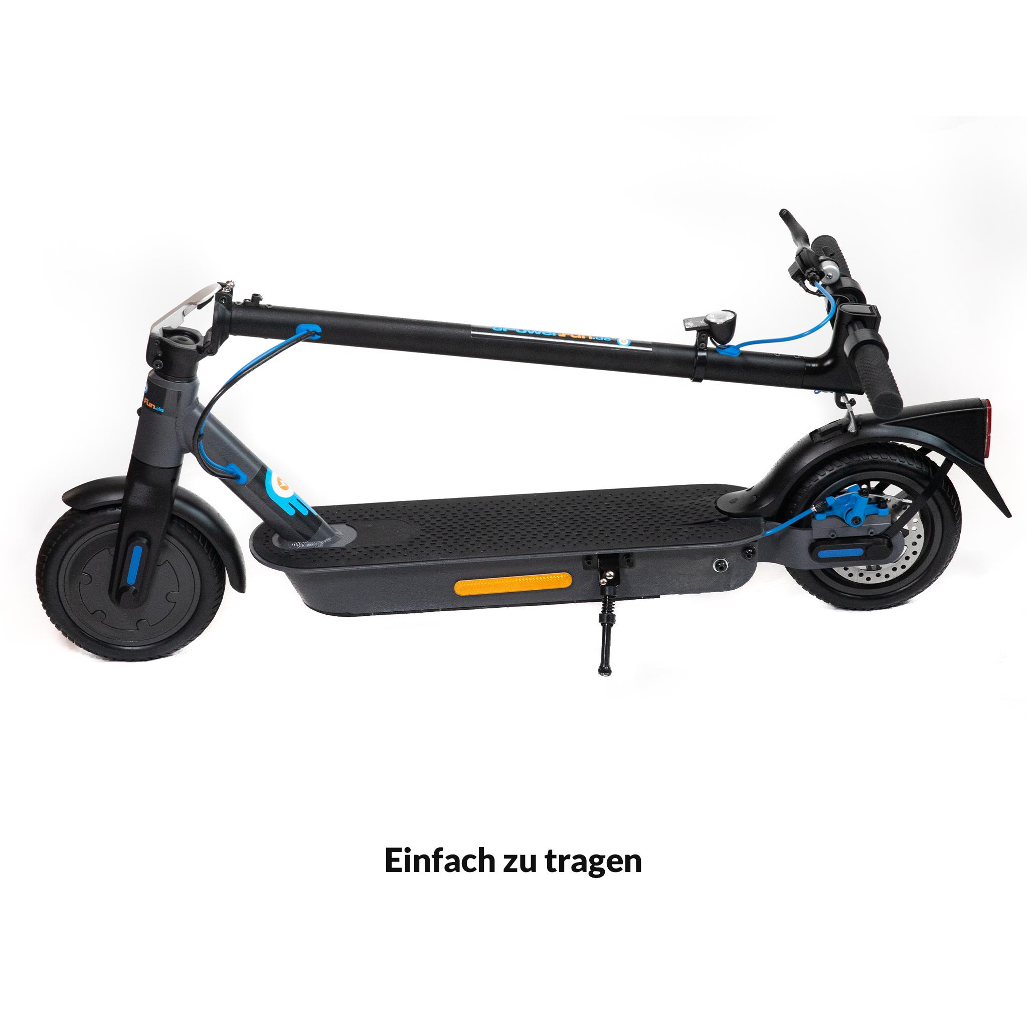 E-Scooter ePF-1 mit Straßenzulassung (ABE¹)!