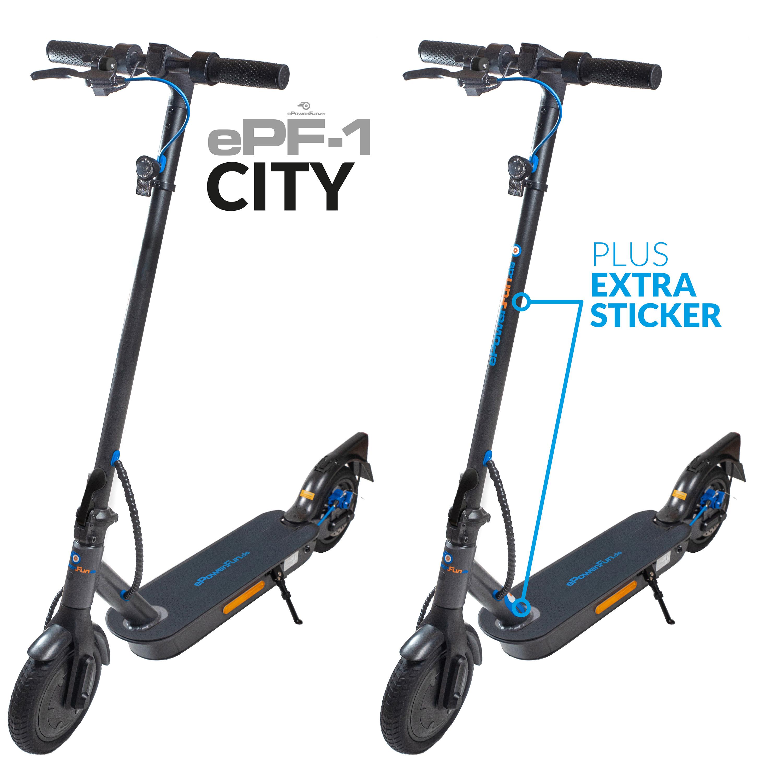 Vorbestellung - ePF-1 City eScooter mit Straßenzulassung