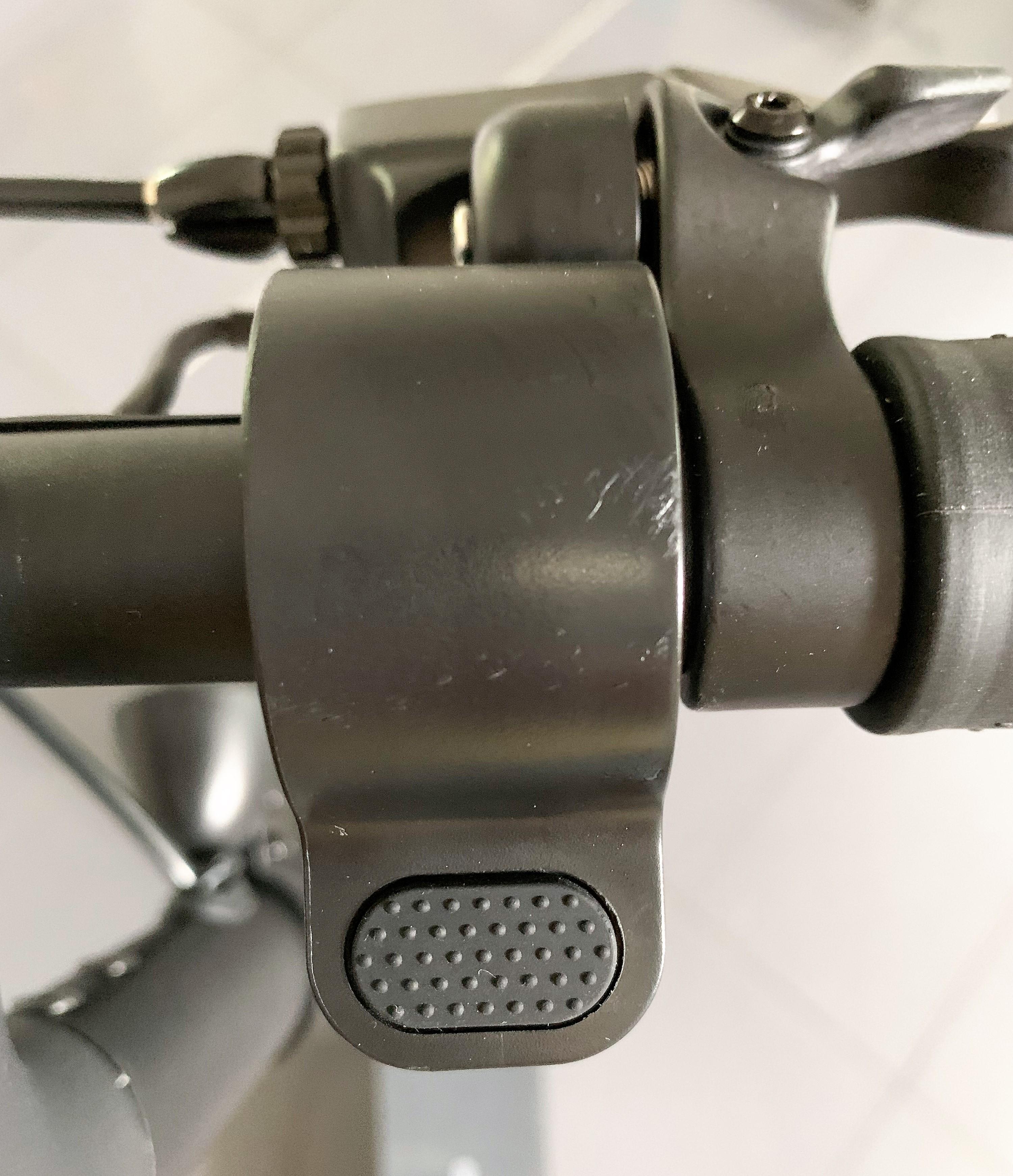 Geschwindigkeits Regelelement - mit schwarzer Griffläche