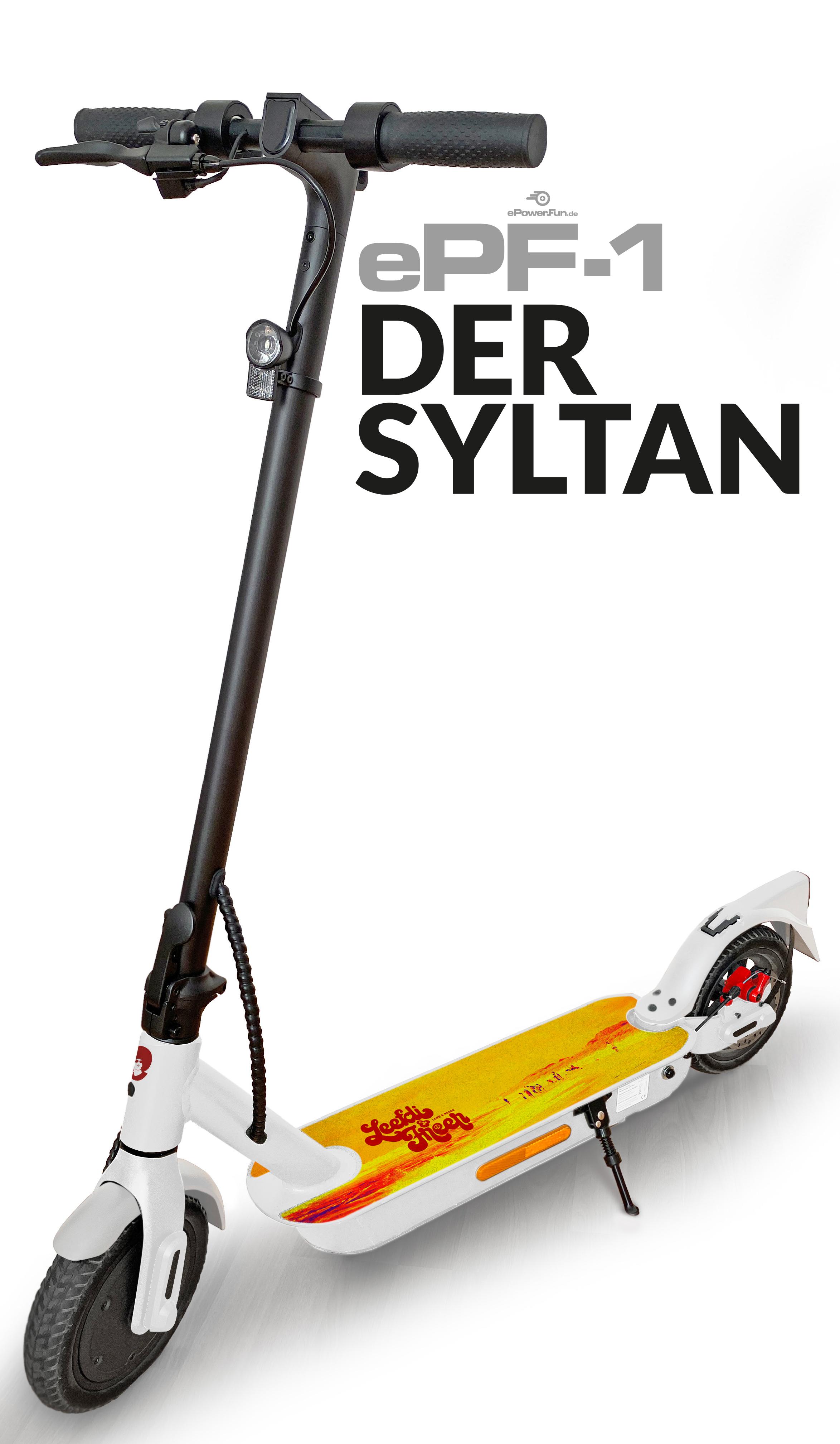 """ePF-1 """"Der Syltan"""" - mit Straßenzulassung (ABE¹)"""