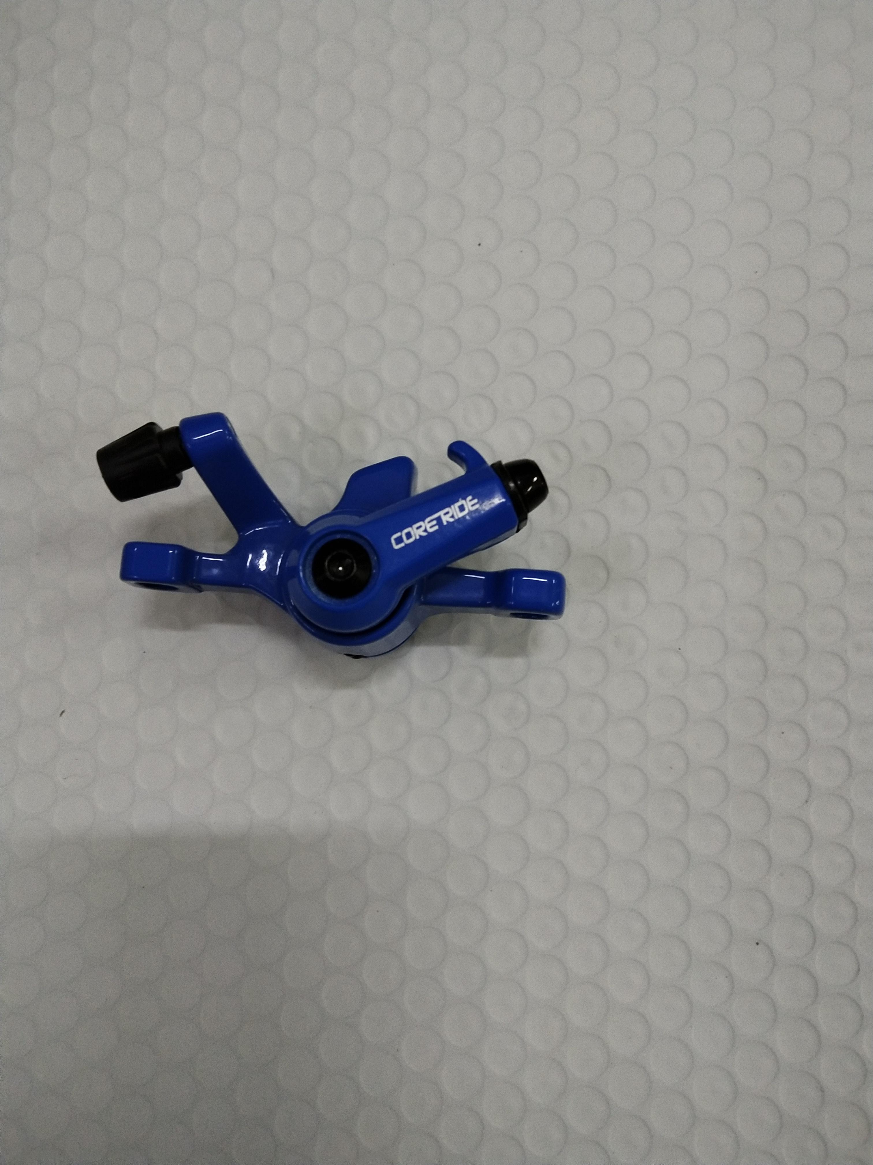 Scheibenbremsset inkl. Beläge (ohne Bremsscheibe) blau