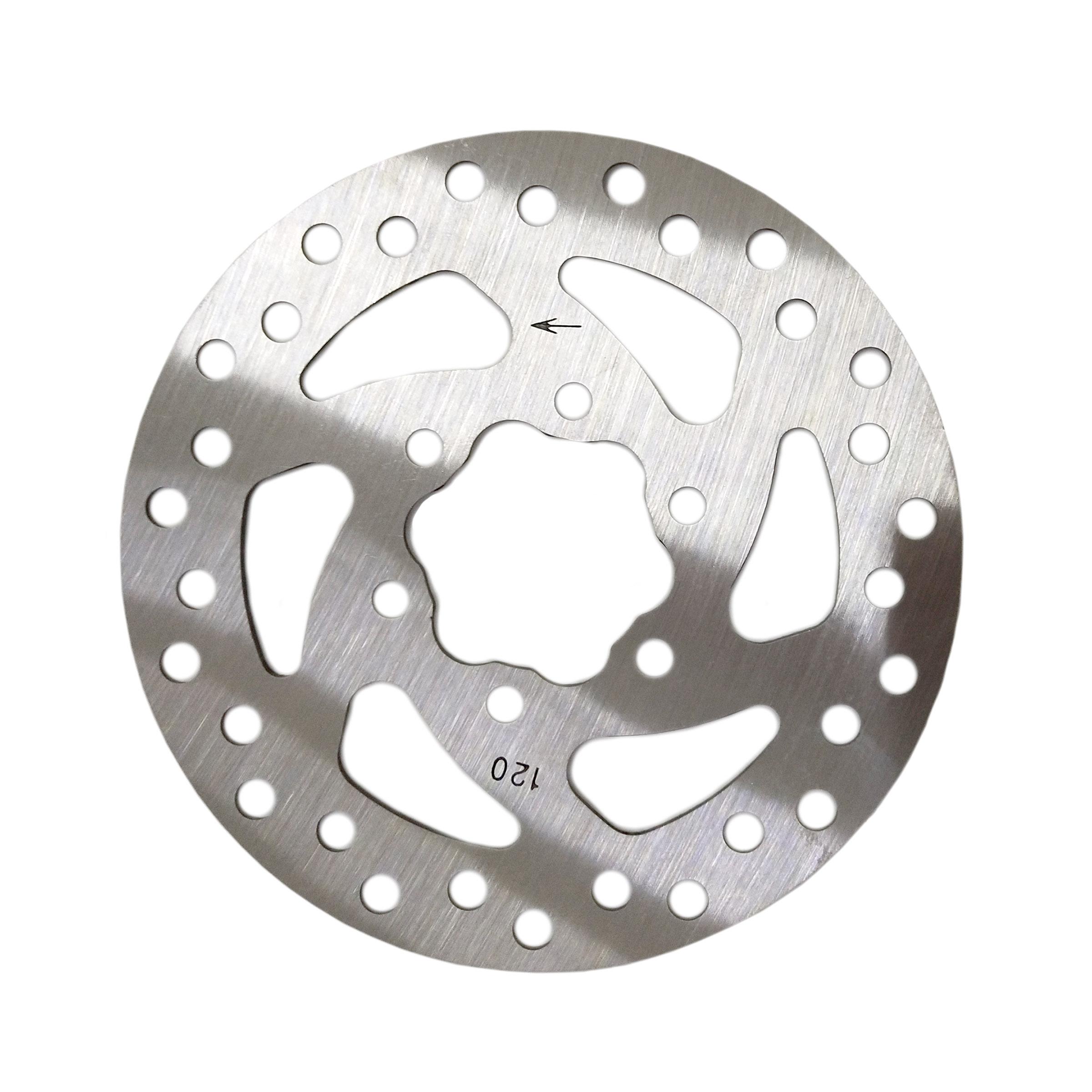 Bremsscheibe 120mm Stahl